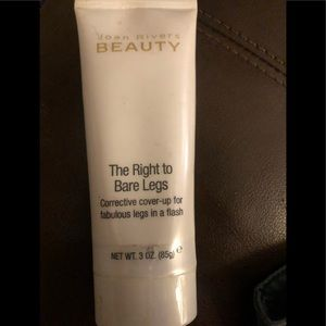 "Joan river "" the right to bare legs"" lotion"